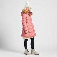 UNIQLO 优衣库 418601 WARM PADDED 女童轻型保暖大衣