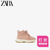 ZARA 新款 童鞋幼童  拼接加厚山地靴运动鞋 17005003050