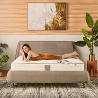 美国丝涟(Sealy) 床垫 新爱脊舒适 亲肤泡棉 钛合金美姿感应弹簧 席梦思双人床垫 偏硬  1800*2000厚21厘米