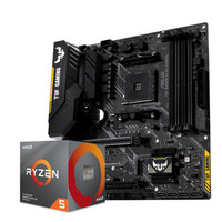 AMD Ryzen R5 3600 盒装CPU + 华硕 TUF B450M-PLUS GAMING主板