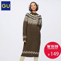 28日0点 : GU 极优 GU318581000 女士针织连衣裙