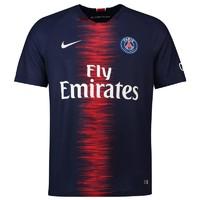 NIKE耐克巴黎圣日耳曼18-19新足球队服主场内马尔短袖球衣 894432-411