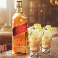 尊尼获加(Johnnie Walker)洋酒 威士忌 红方 红牌 调配型苏格兰威士忌 700ml
