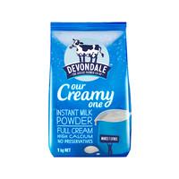 Devondale 德运 全脂青少年成人冲饮牛奶粉 1kg