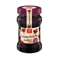 德国进口黑樱桃果酱 55%鲜果 看得见的果肉340克/瓶 *10件