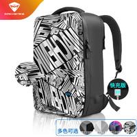 机械师 硬壳背包B500漫画版防雨硬壳USB快充接口12内袋14/15.6英寸