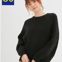 GU 极优 320539 女士茧型针织衫