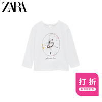 ZARA 秋冬新款 女婴幼童  芭蕾 T 恤 03336336251
