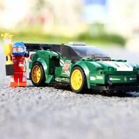 SEMBO BLOCK 森宝积木 城市系列 兼容乐高 超级赛车 法拉利 607014