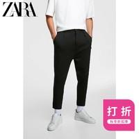 ZARA 01701307800 男装 链条饰紧身裤工装裤