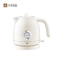 小米有品圈厨电热水壶家用自动断电复古烧水壶304不锈钢防干烧壶