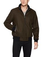 Calvin Klein 男式羊毛飞行员外套