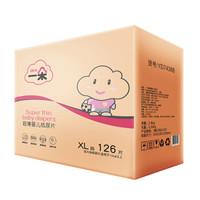一朵(YIDUO)超薄婴儿纸尿片XL126片(12kg以上) *3件