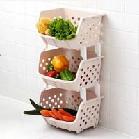 玩具收纳架厨房蔬菜置物架收纳筐落地多层菜篮菜架子用品家用大全