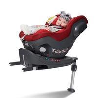 宝贝第一启萌 0-4岁新生儿儿童安全座椅360度旋转汽车用宝宝婴儿 星耀红