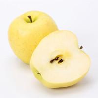山东烟台黄金帅苹果   精品大果 净重5斤