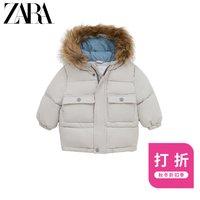 ZARA 新款 男婴幼童 冬装保暖保暖棉服夹克外套 03338625811