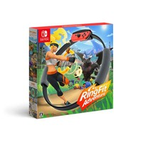 任天堂(Nintendo)Switch  健身环大冒险普拉提圈游戏套装