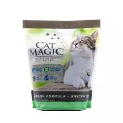CatMagic 喵洁客 益生菌矿物土活性炭 猫砂 14磅 *3件