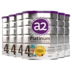 a2 艾尔 婴幼儿白金系列配方奶粉 4段 900g 6罐