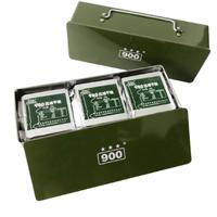 北戴河 900 压缩饼干200g*12包铁盒装 *3件