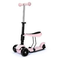 贝恩施 儿童玩具 多档调节 男孩女孩滑板车