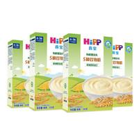 喜宝(HiPP)  喜宝婴幼儿米粉  盒装  原装进口 5种谷物粉200g*4 *2件