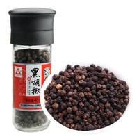 川珍 黑胡椒粒研磨瓶装 45g *2件