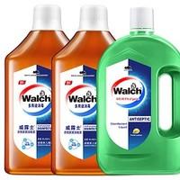 Walch 威露士 衣物家居消毒液 2L+ 除菌液 1L