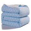 J.H.Longess 加厚夏被六层棉纱儿童空调被纯棉盖毯毛巾被全棉纱夏凉被单双人夏季薄被子
