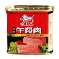 古龙食品 肉罐头 午餐肉340g *2件
