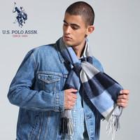 us polo assn PWJOO-60059 男士羊毛围巾 *2件