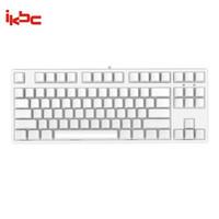 ikbc C87侧刻 机械键盘 有线键盘 游戏键盘 87键 原厂cherry轴  白色 茶轴