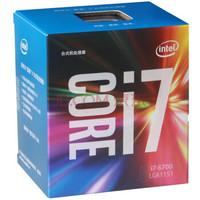 英特尔(Intel)六代酷睿四核 i7 6700 盒装CPU处理器LGA1151接口