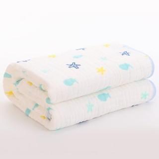 grace 洁丽雅 纯棉婴儿浴巾 *6件