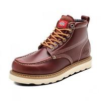 Dickies冬季新款男士靴子加绒保暖马丁靴男高帮休闲靴