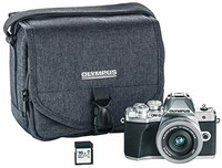 Olympus奥林巴斯 OM-D E-M10微单相机+14-42mm镜头+闪存卡+相机包套装