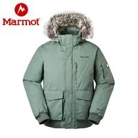 Marmot 土拨鼠 V81673 男士防水加厚户外羽绒服