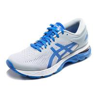 亚瑟士 asics GEL-KAYANO 25 LITE-SHOW  女子跑步鞋  1012A187-020 灰色/蓝色