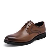 Belle 百丽 10822CM8 男士系带皮鞋
