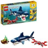 LEGO乐高 百变三合一系列 深海生物 31088