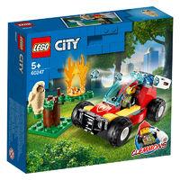 LEGO 乐高 城市系列 60247 森林失火救援