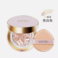 AGE20's 爱敬 幻彩修颜气垫粉饼 SPF50+/PA+++ 12.5g 替换芯 象牙白 *4件