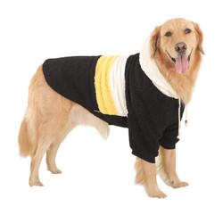 华元宠具(hoopet)狗狗衣服大型犬冬装哈士奇萨摩耶棉衣7XL *3件