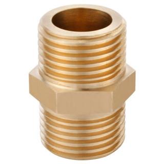 莱尔诗丹(Larsd)T1加厚全铜对丝4分外丝直接进水管接头管件水暖配件