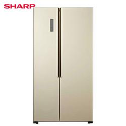 SHARP 夏普 BCD-526WFXD 双变频 对开门冰箱 526L