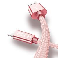 ROCK 洛克 编织数据线 lightning/type-c/micro-USB 1m