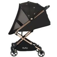 YUYU悠悠八代高景观婴便携折叠伞车 八代玫瑰金钻