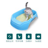 怡亲猫砂 绿茶豆腐猫沙除臭低尘2.5kg*6