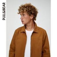 PULL&BEAR 09714516 外套男冬夹克 工装外套